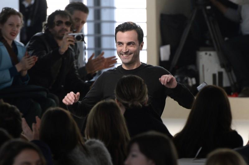 French fashion designer Nicolas Ghesquiere