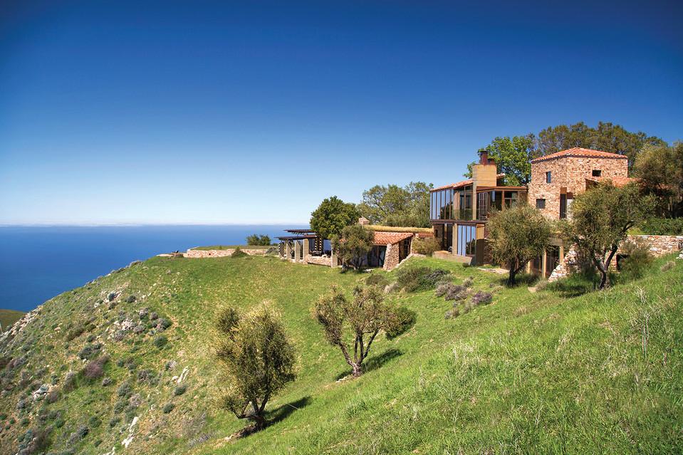Paul Junger Witt Big Sur luxury home