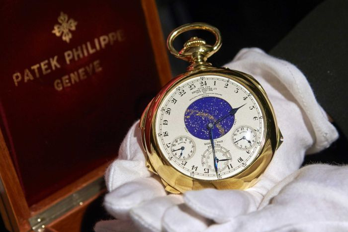 The Henry Graves Supercomplication handmade watch by Patek Philippe