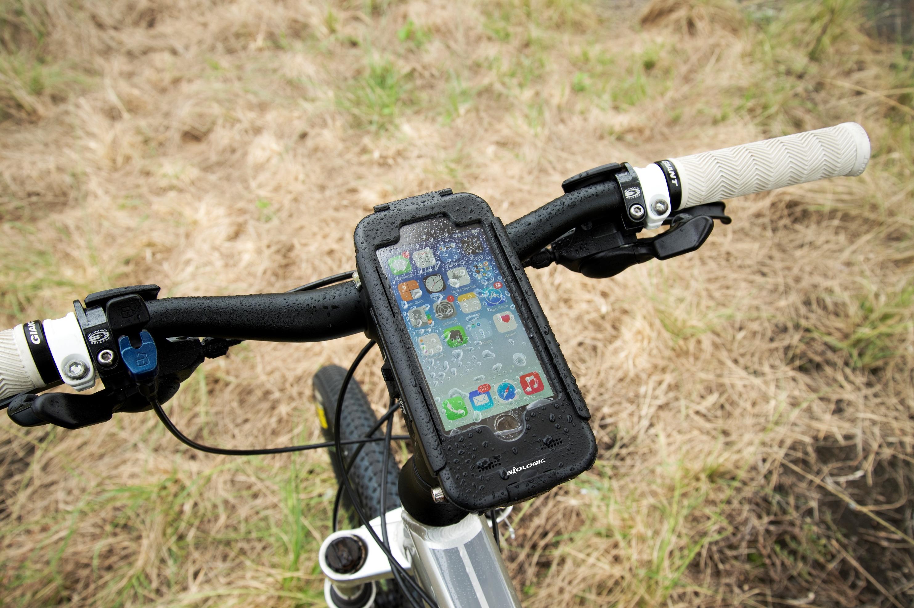 BioLogic bike mount for iPhone 6