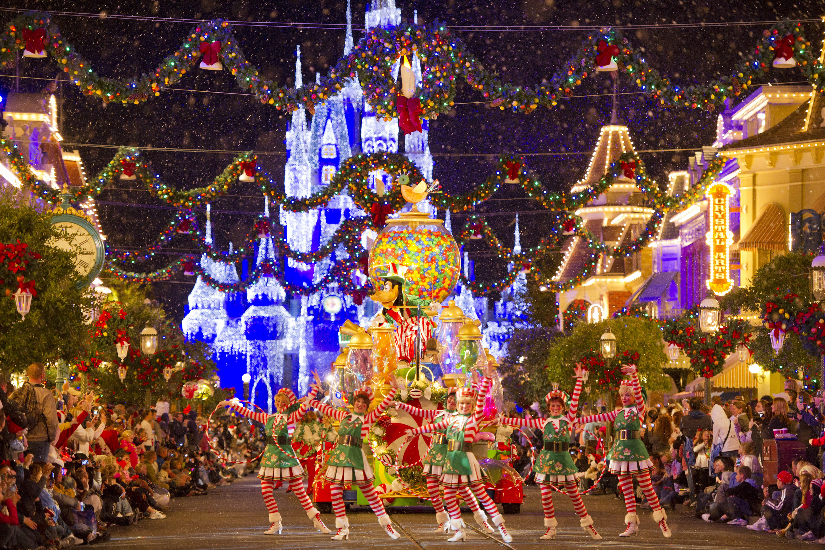 Christmas at Walt Disney World, Florida
