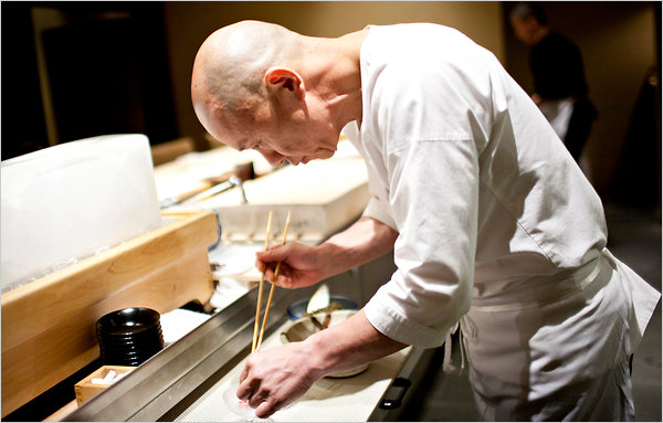 Japanese chef Masayoshi Takayama