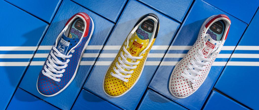 Pharrell adidas Stan Smith Polka Dot
