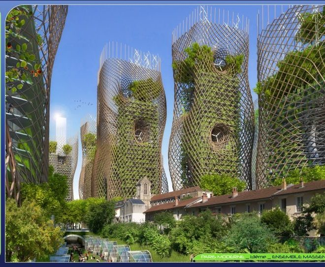 """""""Bamboo Nest Towers"""
