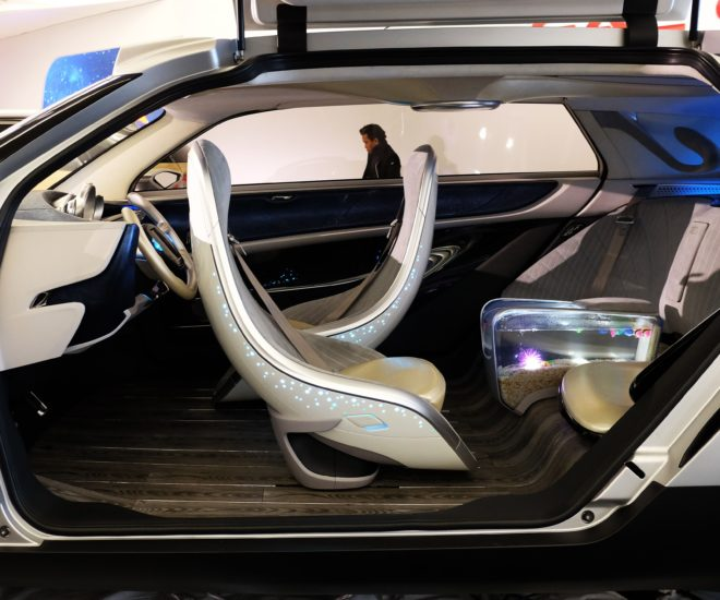 Chinese car fish tank
