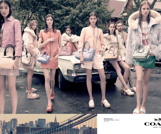 Coach Spring/Summer 2015 campaign
