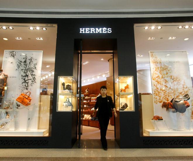 Hermes in Shanghai