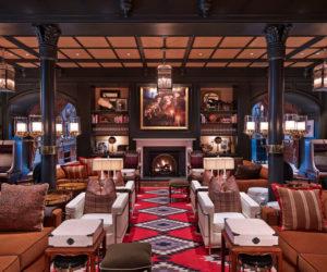 Hotel Jerome Aspen bar