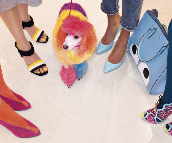 Le Bon Marche shoe department