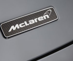 The McLaren emblem