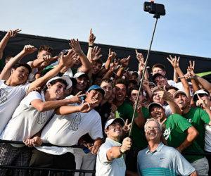 Wimbledon selfie-stick