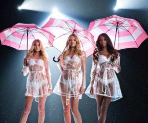 victoria's secret umbrella video