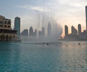 Fountain in Dubai