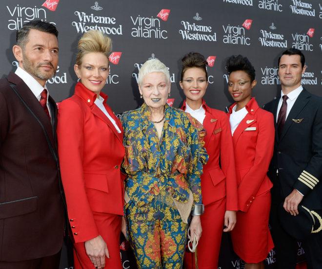 Virgin Atlantic's Vivienne Westwood uniforms