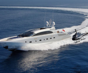 helicopter and yacht
