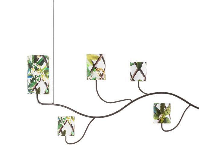 Frondaison chandelier