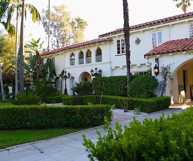 Marlene Dietrich Beverly Hills Home