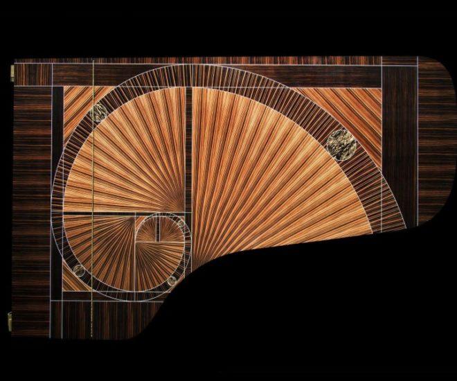 The Fibonacci piano