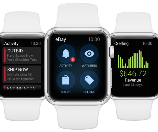 eBay for Apple Watch