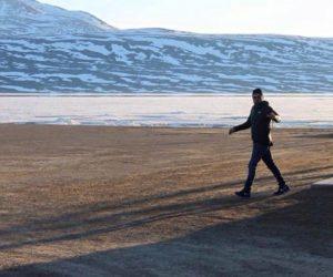 Leonardo DiCaprio Baffin Island