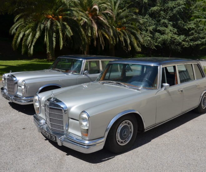 Mercedes-Benz 600 limousines