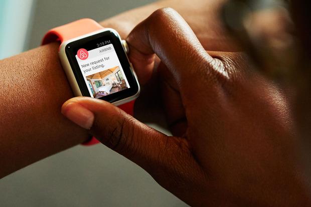 Airbnb Apple Watch app