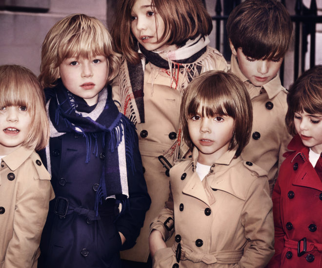 burberry Kids FW15