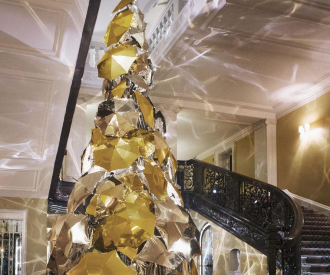 Claridges Christmas tree 2015