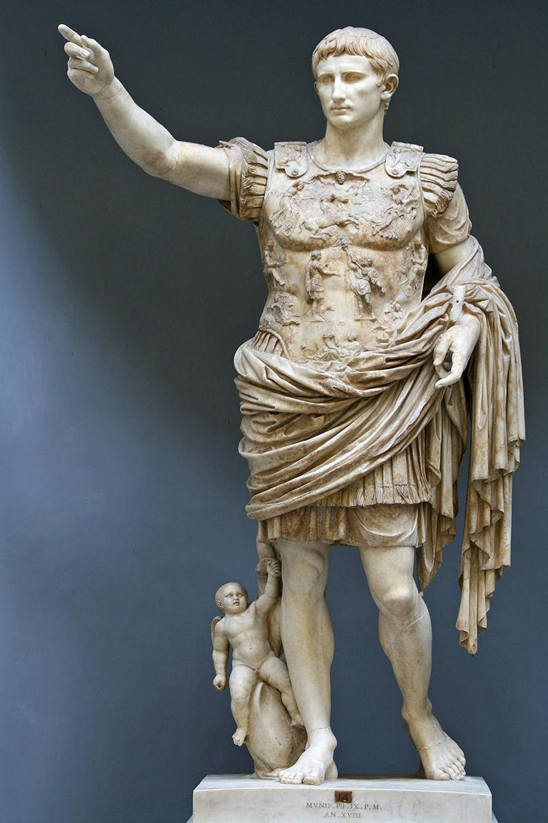 Statue-Augustus-Caesar