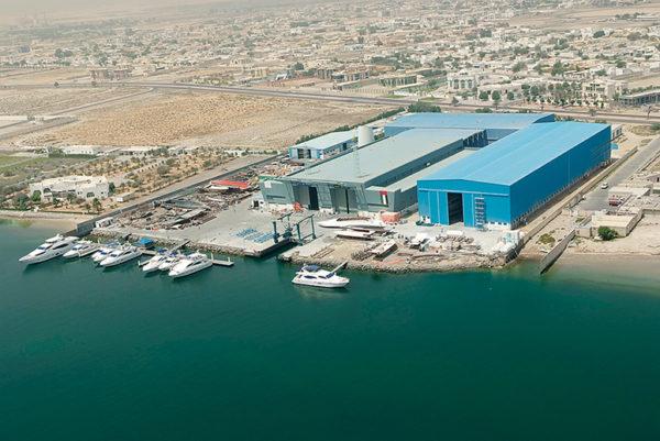 Majesty Yachts shipyard