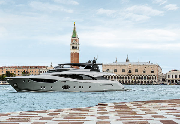 Monte Carlo Yachts launch in Venice