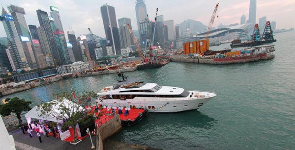 Sanlorenzo launch party in Hong Kong