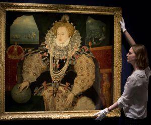 Britain Buys $13.6 million Elizabeth I Portrait.