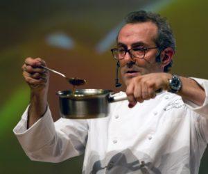 Luxuo AFP Italian chef Massimo Bottura © AFP PHOTO / YASUYOSHI CHIBA