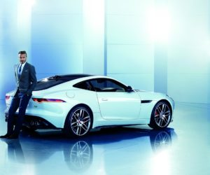 Luxuo David Beckham for Jaguar 2016