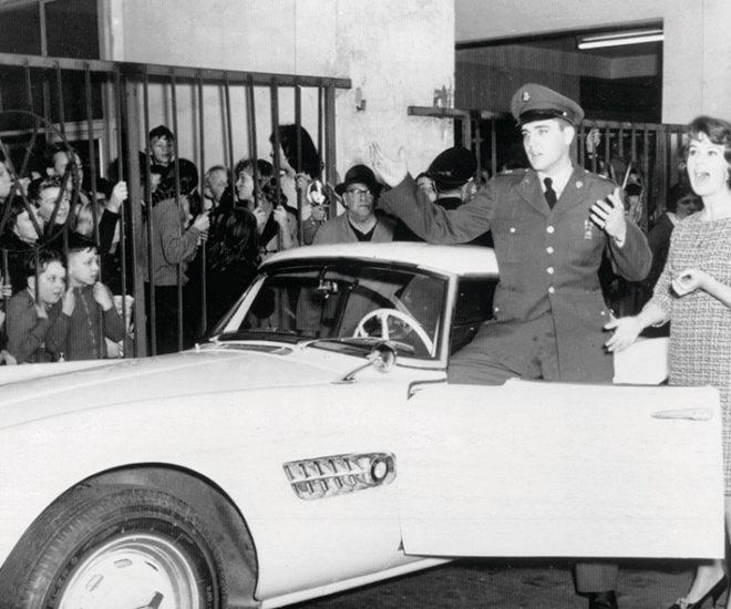 Elvis Presley's BMW 507 Pebble Beach