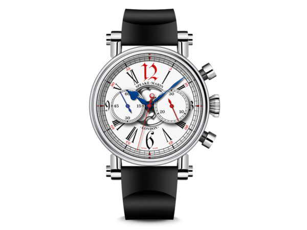 The London Chronograph by Speake-Marin, with a Valjoux 92 movement.