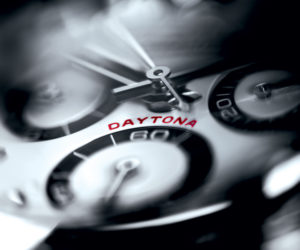 Luxuo World of Watches Rolex Daytona closeup 2016