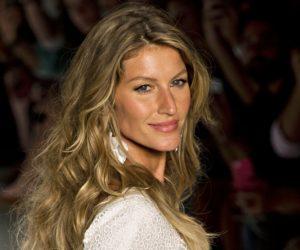 Highest paid models 2016 Gisele Bundchen