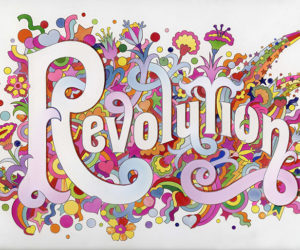 """""""You Say You Want a Revolution? Records and Rebels 1966-1970"""": The Beatles Illustrated Lyrics """"Revolution"""" (1968)"""