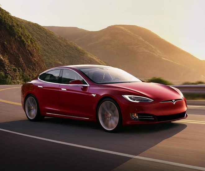 Tesla Model S P100D © Tesla Tesla Model S P100D
