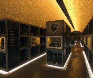 Bollinger Champagne Cellar