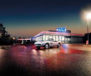 Elvis Presley's restored BMW 507 at Pebble Beach