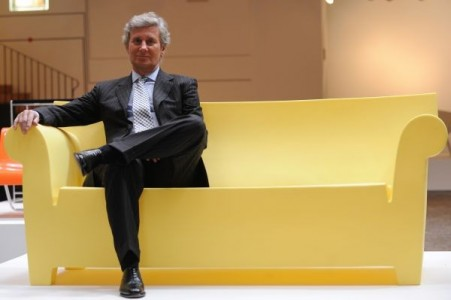 CEO of Italian design company Kartell, Claudio Luti