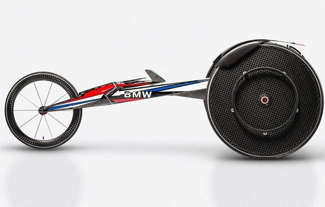 BMW High-Tech Wheelchairs: Paralympic Fast Lane