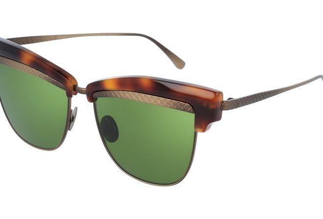 Bottega Veneta Intrecciato Eyewear
