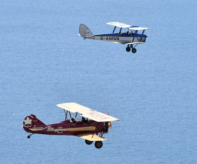 Vintage Biplanes in Epic Africa Conservation Rally