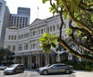 Raffles Hotel Shuts for Renovation in 2017