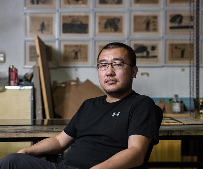 New Sun Xun Work for Audemars Piguet Art Commission