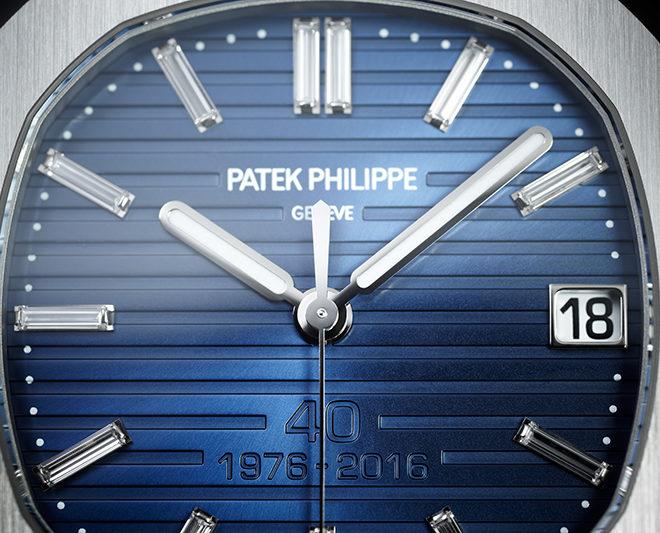 Patek Philippe Nautilus 40th Anniversary Watches Ref. 5711/1P